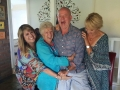 (L to R) Lynda, Josie, Glen and Louise